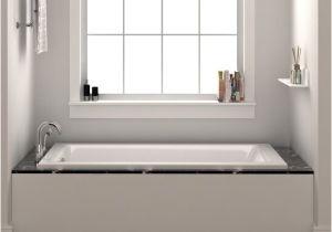 "Alcove Bathtub Pics Drop In or Alcove 30"" X 60"" soaking Bathtub & Reviews"