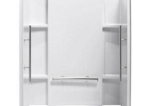 Alcove Bathtub with Surround Sterling Accord 36 In X 48 In X 71 In 3 Piece Direct to