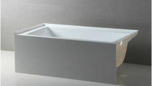 "Alcove Bathtubs at Lowes Accord 70"" X 30"" soaking Bathtub"