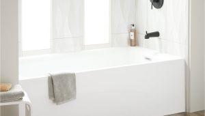 "Alcove Bathtubs Images 60"" Rolfe Acrylic Alcove Tub White Bathroom"