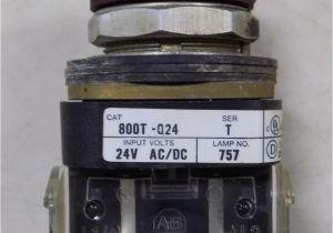 Allen Bradley Stack Lights Allen Bradley Red Indicator Light 800t Q24 Ser T 7 99 Picclick
