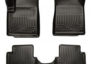 Amazon Weathertech Floor Liners Husky Weatherbeater 2013 2015 Dodge Dart Black Front Rear Floor
