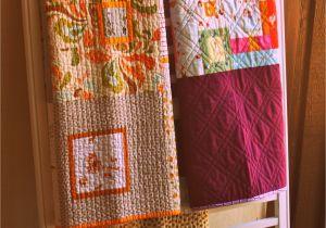 Amish Wall Mounted Quilt Rack Craft Fair Displays Pinterest Repurpose Crib and Gate