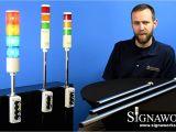 Andon Lights astl Led andon tower Light Signaworks Youtube