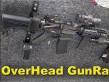 Ar 15 Gun Rack for Utv Overhead Gun Rack for Your Truck by Rugged Gear Review Youtube