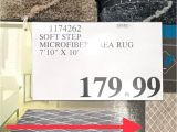Area Rugs at Costco Canada 7 10 X 10 Beige soft Step Microfiber Rug at Costco On Sale