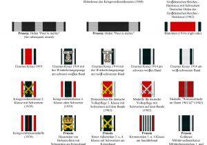 Army Military Awards Rack Builder Custom order German Ribbon Bars From Hessen Antique