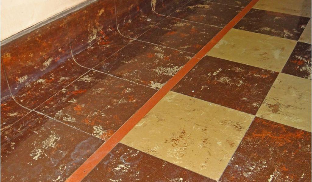 Asphalt Floor Tiles Asbestos Asbestos Floor Tile Cove Base Vintage 9