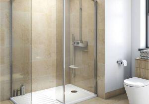 Atlantic Shower Door Mode Luxury 8mm Walk In Enclosure Pack with Tray 1600 X 800