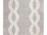 Aztec Print area Rug Gracie Oaks Tufted Tribal Hand Woven Black White area Rug Reviews