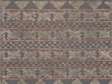 Aztec Print area Rug Jaipur Rugs Modern Tribal Pattern Gray Wool area Rug Sti03