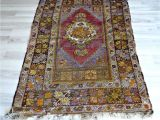 Aztec Print area Rug oriental Vintage Kilim 40 5×61 Inc Turkish Rug Antique Anatolian