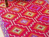 Aztec Print Rug Australia Fab Habitat Indoor Outdoor Patio Rug Mat Lhasa orange Purple Choose