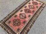 Aztec Print Rug Runner Antigue Rug Oushak Rug Runner Rug Anatolian Rug Home Decor Floor Rug