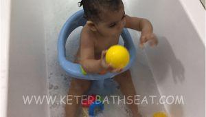 Baby Bath Seat for Boy Keter Baby Bathtub Seat Light Blue – Keter Bath Seats
