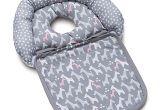 Baby Bath Seat with Straps Boppy Noggin Nest Head Support In Giraffe Baby