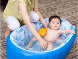 Baby Bath Tub 1 Year Old 2017 Inflatable Baby Bathtub Newborn Supplies Bath Tub