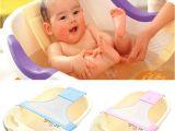 Baby Bath Tub 2 In 1 Newborn Baby Bath Tub Seat Adjustable Baby Bath Tub Rings