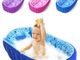 Baby Bath Tub 2 Year Old Retail Inflatable Baby Bathtub Newborns Bathing Tub Eco