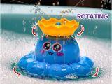 Baby Bath Tub Air Pump Bath toy Spray Water Octopus Ramdom Colour Can Float