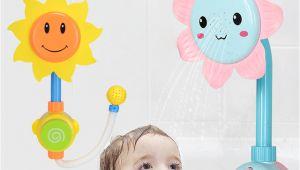 Baby Bath Tub Electric Electric Baby Water Game Bath toy Bathing Tub Sunflower