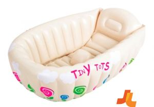 Baby Bath Tub Jacuzzi New Tiny tots Inflatable Baby Bath Hot Tub Heat Sensor