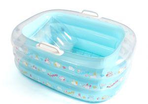 Baby Bath Tub Lucie's List Baby Bath Tub Inflatable Bathtub for Kids with Pump In