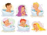 Baby Bath Tub Vector Baby Bath Vectors S and Psd Files
