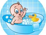 Baby Bath Tub Vector Baby Bathtub Clipart Clipground