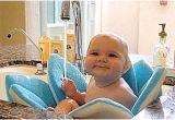 Baby Bath Tub with Jets Bath Flower Cushion for Babies