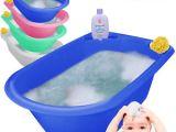 Baby Bath Tub with Jets Jumbo X Baby Bath Tub Plastic Washing Time Big