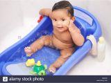 Baby Bath Tub with Legs Girl Washing Feet Stock S & Girl Washing Feet Stock