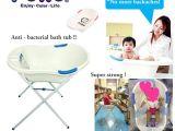 Baby Bath Tub with Stand Usa Qoo10 Puku Bath Tub with Bath Tub Stand Bundle Set
