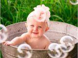 Baby Bathtub 6 Month Old Caroline Wash Tub Session Picture Ideas