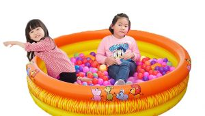 Baby Bathtub Big Size Inflatable Baby Ocean Ball Pool 142 30cm Cartoon Swimming