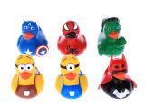 Baby Bathtub Float 6pcs Lot Baby Bath toys Pool Float Rubber Duck for