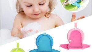 Baby Bathtub Foam Pad Bath Sponge Support Safety Aid Bathing Mat Foam Slip