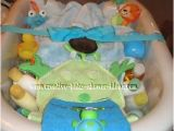 Baby Bathtub Gift Ideas A Beautiful Basket Centerpiece
