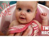 Baby Bathtub Hacks Baby Bath Time Routine