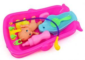 Baby Bathtub Head Float Baby Bath toys Bathtub Cognitive Floating toy Early