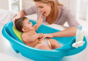 Baby Bathtub Infant Sling Splish N Splash Newborn to toddler Bath Tub Blue Summer