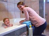 Baby Bathtub Kneeler Amazon Life Upgrade Bath Kneeler In Blue Padded