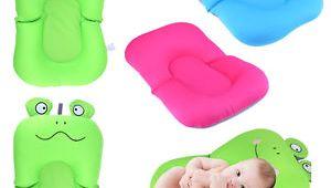 Baby Bathtub Lounger Baby Bath Tub Pillow Pad Lounger Air Cushion Floating soft