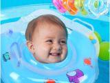 Baby Bathtub Neck Ring Swim Ring Newborn Baby Swimming Neck Float Tube Ring Bath