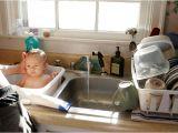 Baby Bathtub that Fits In Sink Baby Bath In Sink Domestic Life