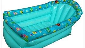 Baby Bathtub Travel Inflatable Baby Bath Tub Baby toddler Portable Travel Bath
