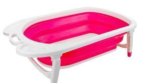 Baby Bathtub Uae Children Folding Bath Tub Pink