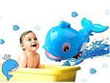Baby Bathtub with Sprayer Amazon Cute Swimming Dolphin Spray Water Bath toys