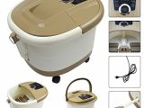 Baby Bathtub with Temperature Control Yosager Foot Spa Bath Massager with Heat Rolling Massage