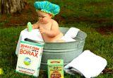 Baby Boy Bathtubs Shirtless Baby Boy In Galvanized Tub · Free Stock